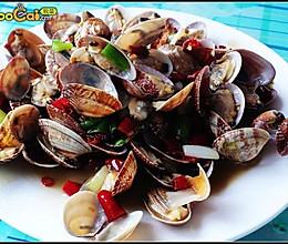 美丽厨娘-辣炒花蛤的做法