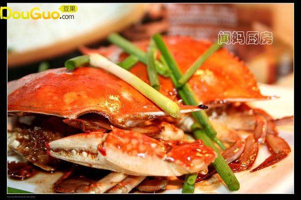 红烧梭子蟹的做法