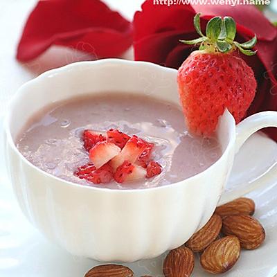 草莓大杏仁水果茶的做法