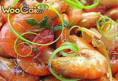 陈皮河虾的做法