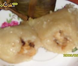 香菇鸡肉粽子的做法