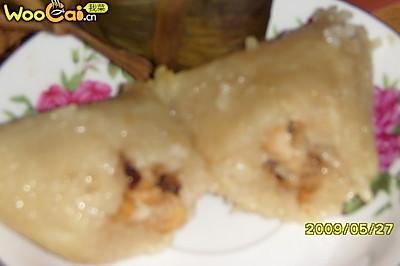 香菇鸡肉粽子