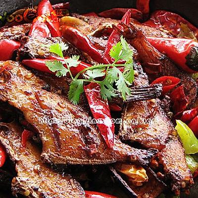 入冬暖身菜——干锅扒皮鱼