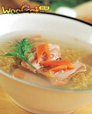 宝宝食谱之酸菜肚片汤的做法