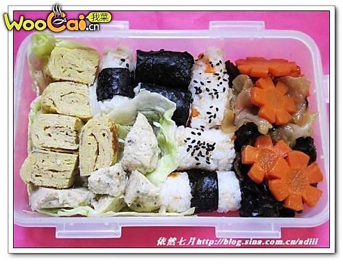 爱心饭盒(我们的小世界)——美丽厨娘的做法