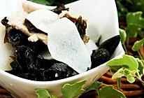 甜豆木耳炒山药——一道清淡的减肥素菜的做法