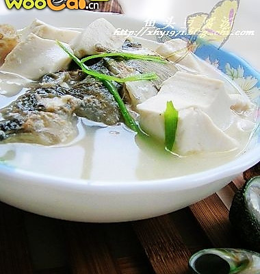 鱼头豆腐汤--让你越吃越聪明的做法