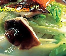 冬菇烧白菜 的做法
