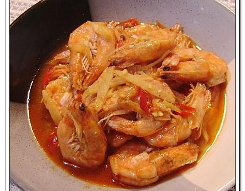 油焖大虾——美丽厨娘