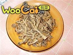 鲜蘑肉片的做法