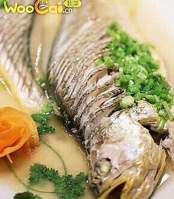 干蒸黄鱼的做法