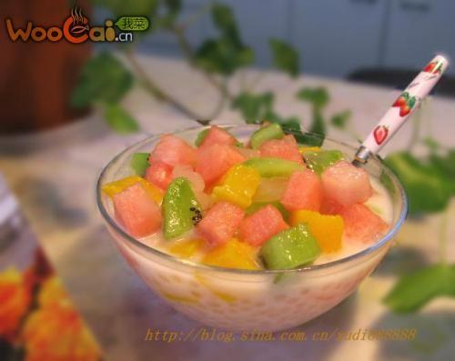 夏季凉品——什果西米露的做法