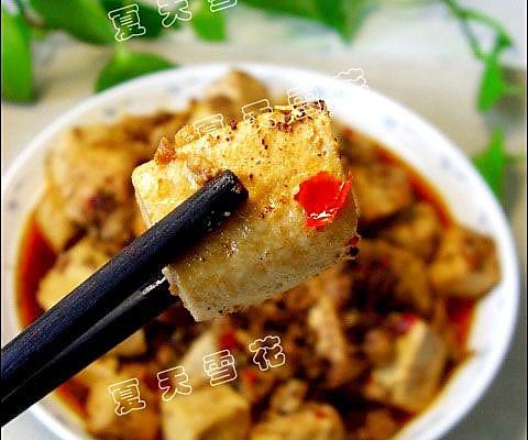 麻婆豆腐-美丽厨娘的做法