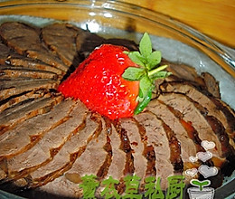 私房酱牛肉--美丽厨娘的做法