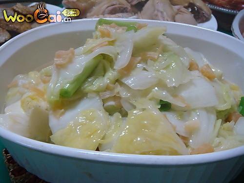 原汁原味 干贝鲜白菜的做法