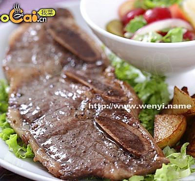牛排伺候中国胃 香煎牛排套餐