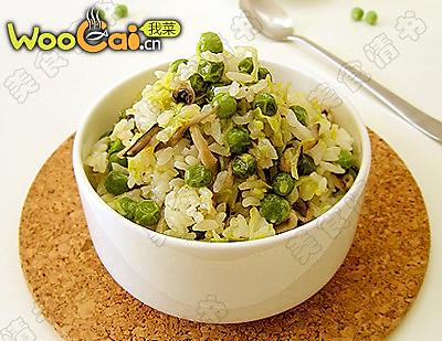 豌豆饭的做法