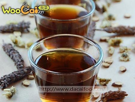 自制夏桑菊凉茶的做法