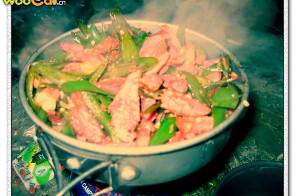 青椒炒清真牛肉丝的做法