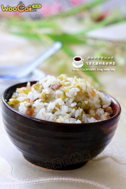 一锅好饭:豆角焖饭的做法