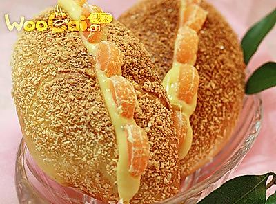 春节特制:椰蓉卡士达面包的做法