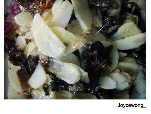 樱氏山药熘肉片的做法