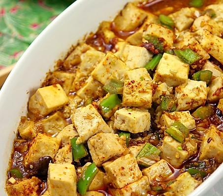 微波麻辣豆腐——5分钟快手菜的做法