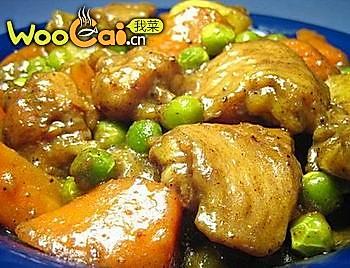 鲜香微辣咖喱鸡翅的做法