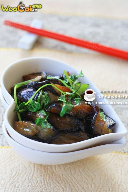 红烧茄子:降低胆固醇的佳品的做法