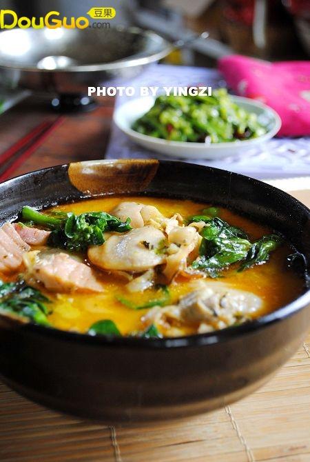 江南水下第一鲜------苔芯蚌肉汤的做法
