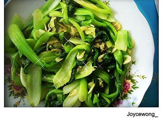 樱氏海米扒油菜的做法