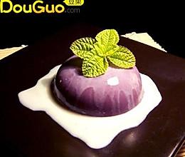 紫薯甜点一款的做法