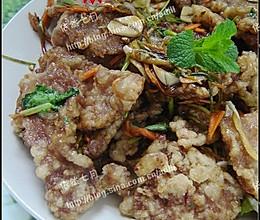 美丽厨娘-正宗东北锅包肉的做法