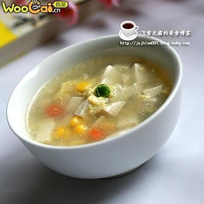 豆腐蛋花汤 完美瘦身汤