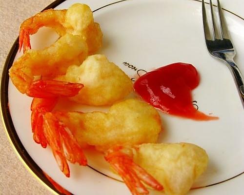凤尾虾—美丽厨娘的做法