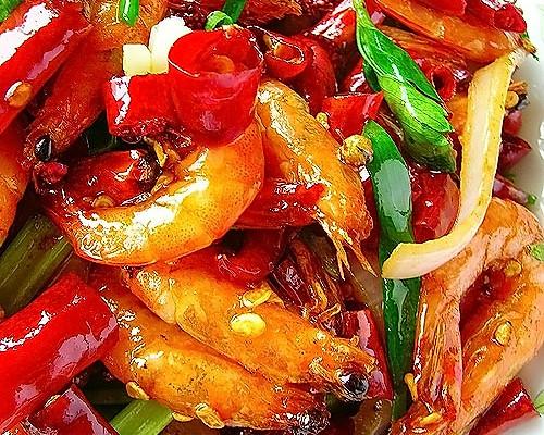 脆皮香辣虾的做法