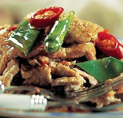 兰椒炒牛肉的做法