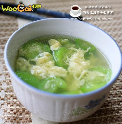 丝瓜蛋汤——适合夏天喝的汤的做法