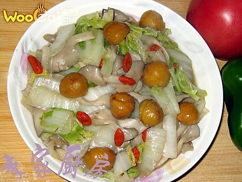 板栗烧白菜的做法