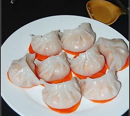 水晶虾饺----奖品到了的做法