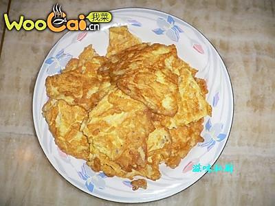 白饭鱼煎鸡蛋