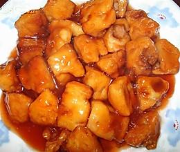 糖醋鸡黄肉的做法