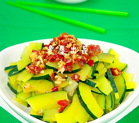 剁椒南瓜——长寿菜的做法