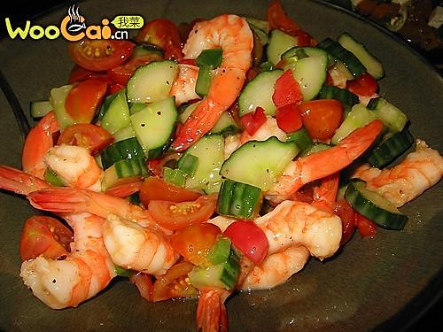 越式虾沙拉的做法