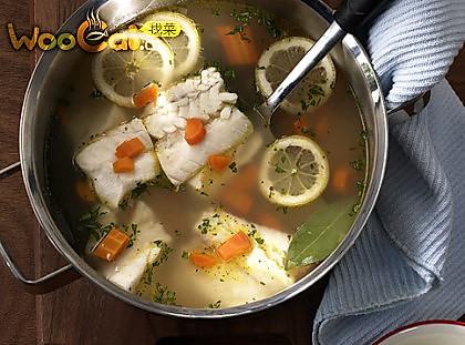 美味的柠檬水煮鱼的做法