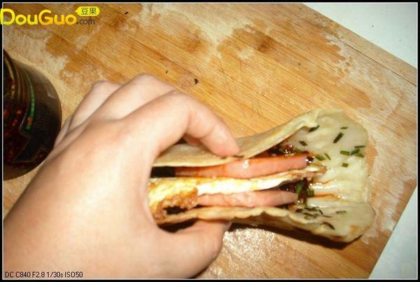 自制三明治的做法