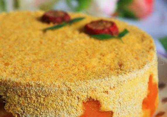 南瓜松糕的做法