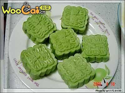 中秋绿茶月饼的做法