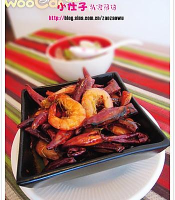 辣子虾的做法