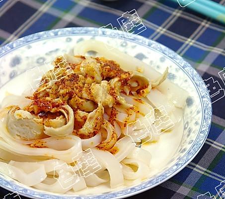 凉皮——详细制作过程教你做陕西风味小吃 分享的做法